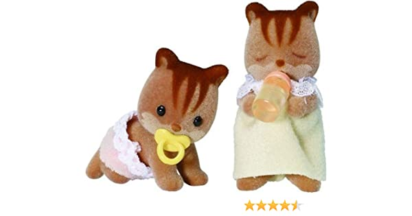 Amazon.es: Flair - Sylvanian Families Walnut Squirrel Twins: Juguetes y juegos