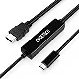 USB C to HDMI Adapter Cable (16.4ft/5m), CHOETECH USB 3.1 Type C Male to ...