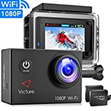 Victure Action Camera Underwater Cam WiFi 1080P Full HD 12MP Waterproof 30m 2