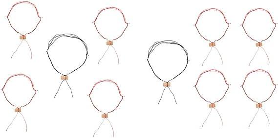 シンプル エッセンシャルオイル ネックレス すてきな インテリア 10個入り