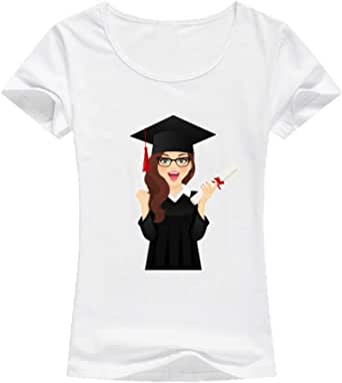 Graduation T-Shirt For Women - size XL