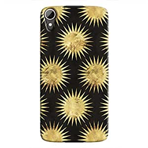 Cover It Up - Gold Black Star Desire 828 Hard Case