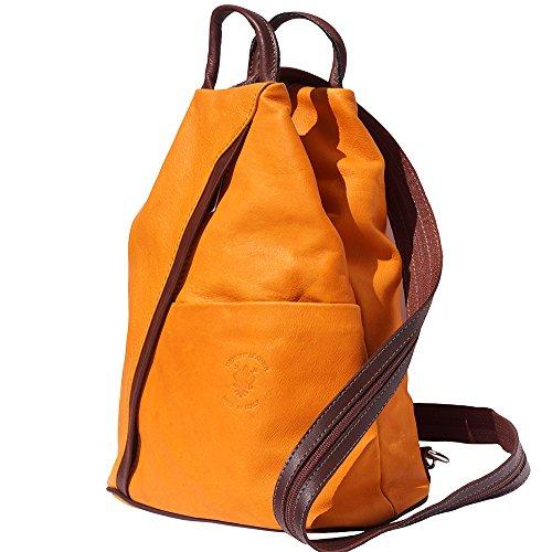 bolsa Naranja marrón 2061 hombro de y mochila Bolso zgE1xw4fq
