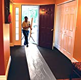 "ArmorDillo Strong - 100% Made in U.S.A. 24"" x 200 Carpet Protection Film. Strongest, Easiest To Use Carpet Cover, Clear Protective Film, Surface Protection Film, Paint Protection Film"