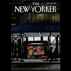 The New Yorker, January 28th 2013 (Jill Lepore, Paige Williams, Jeffrey Toobin) Periodical