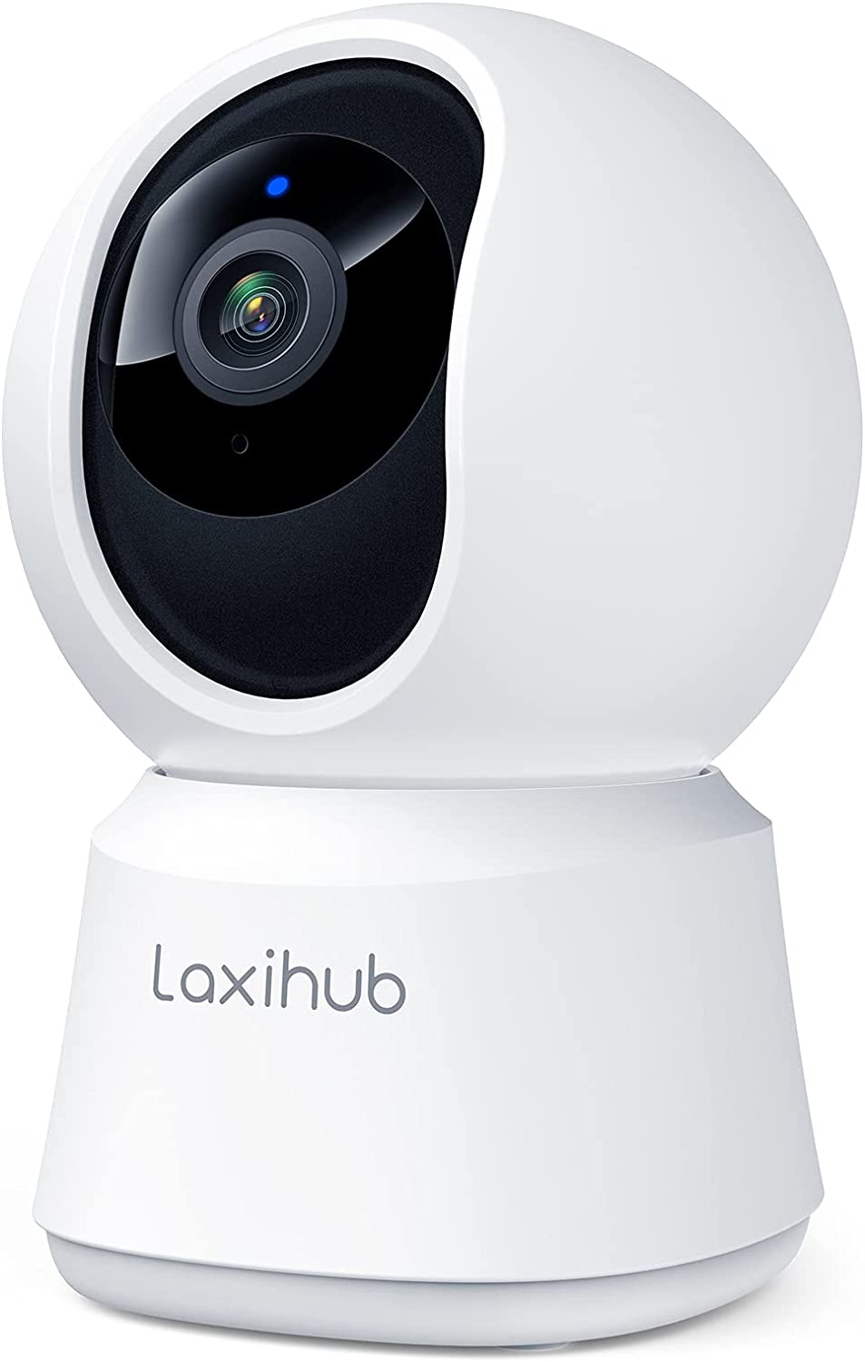 Laxihub Indoor Camera, P2 Baby/Pet Home Security WiFi Camera 1080p Fhd, Night Vision, 2-Way Audio, Ai Motion Detection Works with Alexa & Google Assistant