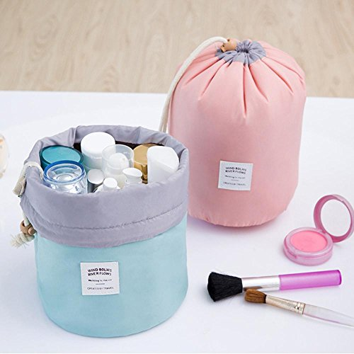 Lazy Toiletry Bag, AOLVO Dustproof Drawstring Makeup Caddy and ...