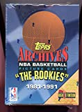 1992-93 1993 Topps Archives The Rookies Basketball Card set Wax Pack Box