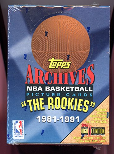 Signe Collection - 1992-93 1993 Topps Archives The Rookies Basketball Card set Wax Pack Box