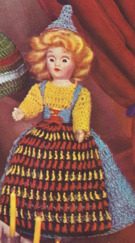 Vintage Crochet PATTERN to make - 8