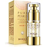 Eye Cream Anti-wrinkles Pearls Moist Collagen Remove Eye Bag Dark Circle Firming By HuntGold(Net Content: 25g)