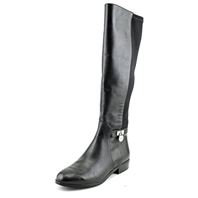 8541eae3c0d Michael Kors Women s Leather Bryce Riding Boots (5 B (M) US