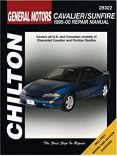 Chevrolet cavalier pontiac sunfire 1995 2005 haynes repair gm cavalier and sunfire 1995 00 chilton total car care series manuals fandeluxe Gallery