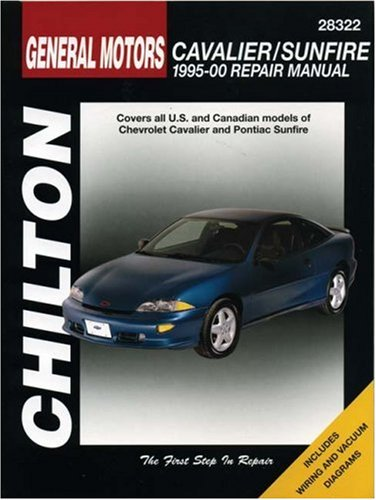 GM Cavalier and Sunfire, 1995-00 (Chilton Total Car Care Series Manuals)