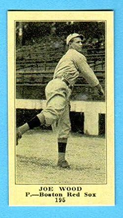 Amazoncom Smokey Joe Wood 1916 Sporting New Baseball