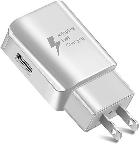 HGA Cargador de Carga rápida 3.0 Cargador USB de Pared, 2-Pack Adaptador de Viaje portátil de Carga rápida, para Android, iOS, Otros teléfonos móviles y tabletas, etc,D: Amazon.es: Deportes y aire libre