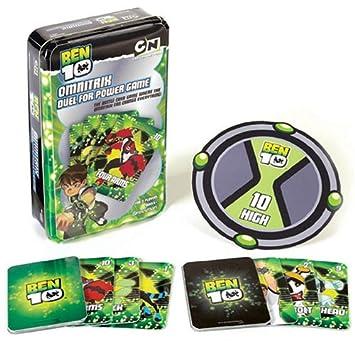 Pressman Ben 10 - Omnitrix y juego de cartas (en inglés ...