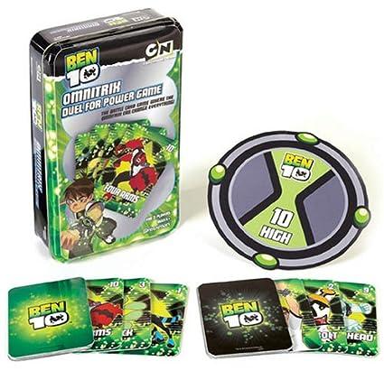 Amazon.com: Pressman Ben 10 Omnitrix Juego de cartas: Toys ...