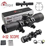TACFUN – AIM Tactical MIL-DOT Reticle Compact Scope/w Rings For Sale