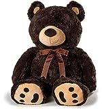 Huge Teddy Bear - Dark Brown