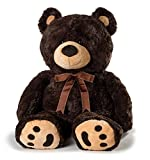53 inch teddy bear - JOON Huge Teddy Bear - Dark Brown