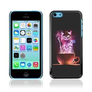 YOYOSHOP [Magical Colorful Cat ] Apple iPhone 5C Case
