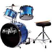 Music Alley DBJK02-MR - Batería para principiantes