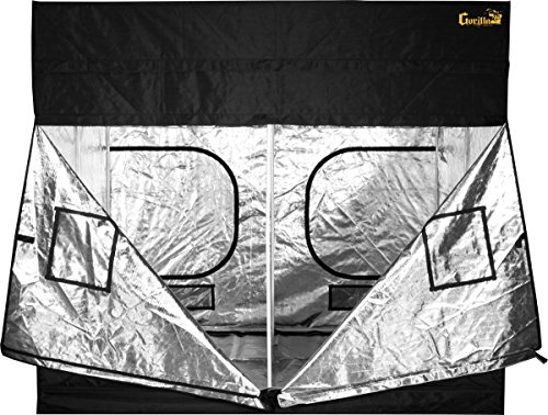 Gorilla Grow Tent GGT99 Grow Tent, 9 by 9 by 6'/11