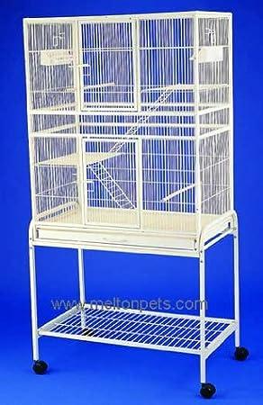 Jaula de Pájaros - Vuelo envejecido negro Parrot jaula ...