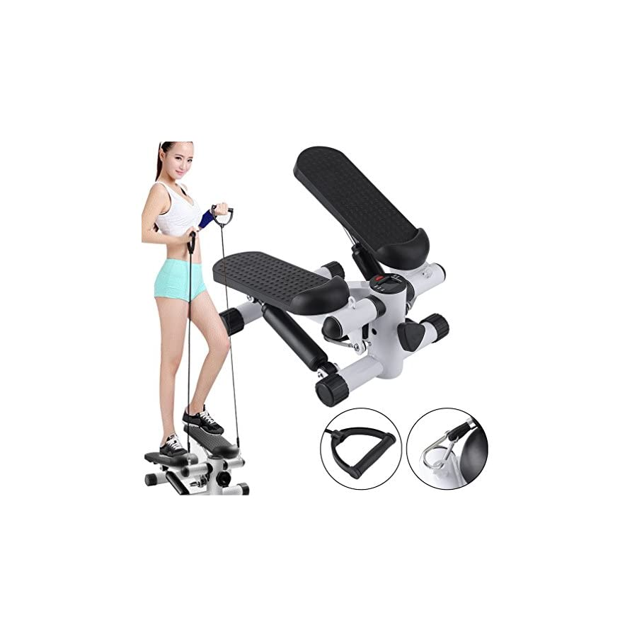 FISOUL Air Stepper Climber Exercise Fitness Thigh Machine for Home Workout Gym