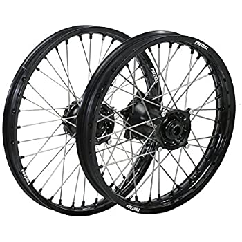 Amazon Com Protrax Complete Wheel Rim Set Orange Hub Frontrear 21