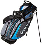 TaylorMade TM15 PureLite Golf Stand Bags, Gray/Blue/Silver