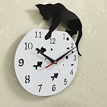 NEW sale quartz watch wall clock acrylic mirror reloj pared horloge needle diy clocks living room