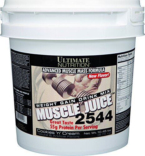 Muscle Juice Revolution - Ultimate Nutrition Muscle Juice 2544 Classic Gainer Protein (Cookies N Cream, 13.2 Pounds)