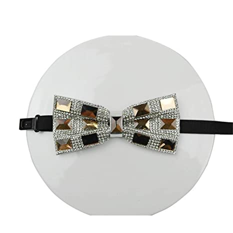 LILILICX Pajaritas Gypsophila Necklace Bow Tie Diamond - Arco para ...