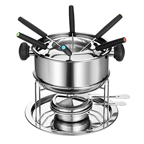 DOWAN SH081 Stainless-steel Fondue Pot Set