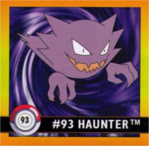 Pokemon - Artbox - Haunter #93 - Sticker - Pokemon Cards Haunter Ex