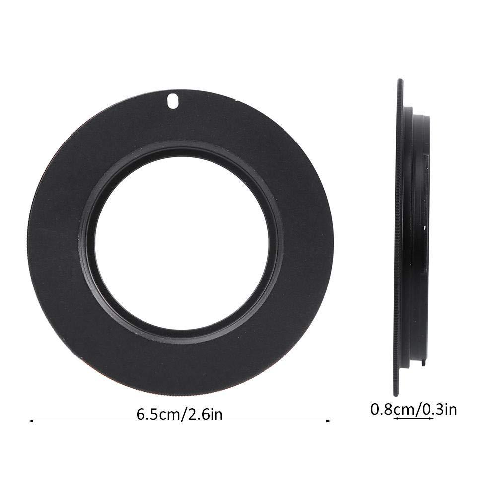 Converter Ring for Canon M42 Lens to EOS Camera Body Pomya Camera Lens Adapter Ring M42-EOS Alloy Lens Connector