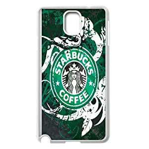 Starbucks Coffee Print Samsung Galaxy Note 3 Cell Phone Case White NRI5090567