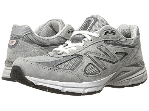 これまで排出暴露(ニューバランス) New Balance レディースランニングシューズ?スニーカー?靴 W990v4 Grey/Castlerock 11 (28cm) B - Medium