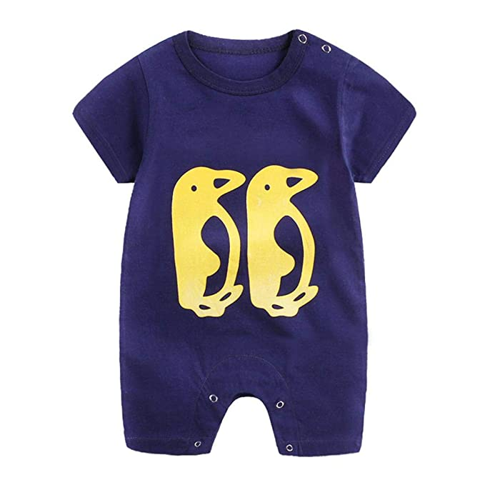 9461006158f0 Iuhan Newborn Infant Baby Boy Girl Cartoon Romper Cute Jumpsuit ...