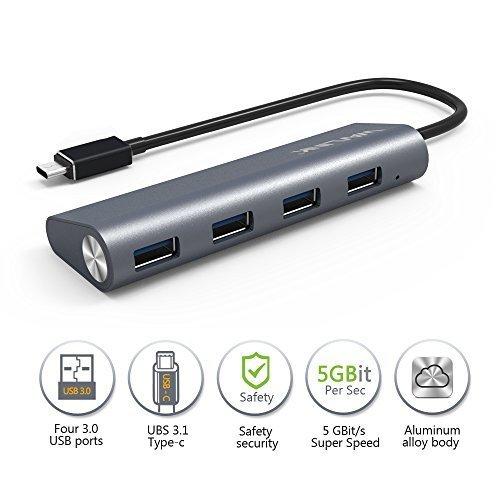 Wavlink USB3.1 4ポートハブ