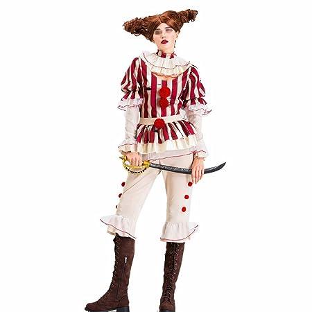 Sumferkyh Disfraz de Payaso para Adultos, Disfraz de Circo con ...