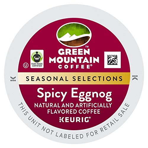 [Green Mountain *Limited Edition* SPICY EGGNOG (1 Box of 24 K-Cups)] (Eggnog Cups)