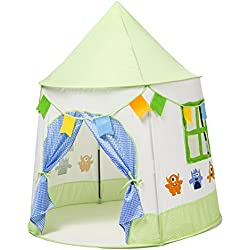 LALIFIT Kids Tent Children Play Tent Princess Prince Castle Kids Pop Up Play Tents for Boys Girls Indoor Outdoor Tents