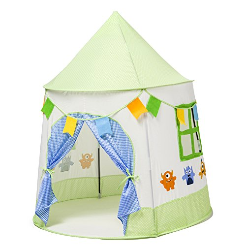 lalifit kids tent children play tent princess prince. Black Bedroom Furniture Sets. Home Design Ideas