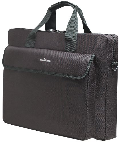 Manhattan London 15.6 Laptop Briefcase - Top-load