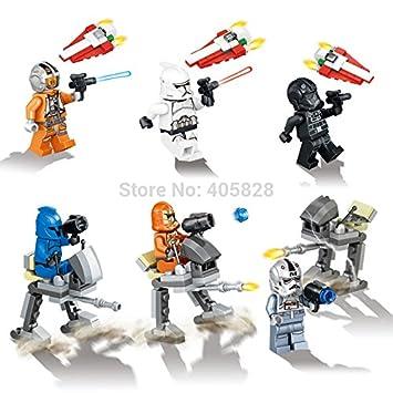 Amazon.com: 6 pcs/lot marca Lele 79191 7 de Star Wars The ...