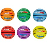 SportimeMax Basketballs - Men's Size, 29 1/2 inch- Set of 6 Colors