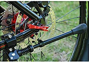 Hilai 1pc Bicicleta Patas Retractable pie Apoyo Bicicleta de ...